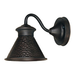 World Imports - World Imports 9002S Dark Sky Essen Outdoor Wall Sconce - World Imports 9002S-42 Dark Sky 1-Light Wall Sconce in Rust