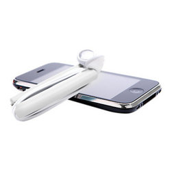 Quirky - Wrapster Headphone Cord Organizer, White - The hassle and irritation that accompanies headphones no longer needs to cause you headaches with the Wrapster Headphone Cord Organizer by Quirky. It is compact, durable and sturdy. Perfect for any smartphone or mp3 player.