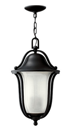 Hinkley Lighting - Bolla Hanger Outdoor - Make a good first impression with this elegant outdoor light. Hung above your front door it beams a welcoming glow to each guest entering your home. Graceful and strong, it reflects your impeccable good taste.