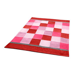 "Blancho Bedding - [Plaids - Hoodwinked] Soft Coral Fleece Patchwork Throw Blanket (59""-78.7"") - This Coral Fleece Patchwork Throw Blanket measures 59 by 78.7 inches. Comfort, warmth and stylish designs. Whether you are adding the final touch to your bedroom or rec-room these patterns will add a little whimsy to your decor. This Coral Fleece Patchwork throw blanket will make a fun additional to any room and are beautiful draped over a sofa, chair, bottom of your bed and handy to grab and snuggle up in when there is a chill in the air. They are the perfect gift for any occasion! Keep one in your car for staying warm at  outdoor sporting events. Place one on your couch or favorite upholstered chair. Have extras on hand for sleepovers and overnight guests. Machine wash and tumble dry for easy care. Will look and feel as good as new  after multiple washings!"