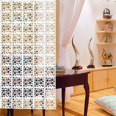 Planet Decor White Coloured Patels Room Divider by Planet Decor Online - Screens