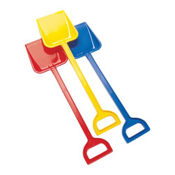 "The Original Toy Company - The Original Toy Company Kids Children Play Super Shovel - Sturdy Plastic Construction this new large shovel offers the young digger hours of imaginative play in sand or dirt. Made in Denmark. Size - 19.5"" Age - 2 year plus."