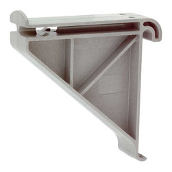 Renovators Supply - Shelves Expandable Polymer Garden Tool Shelf Rack - There comes a time when every disorganized mess should get it together!  With our expandable wall storage unit you can add on as you need, to turn garage, basement or workshop into a model of efficiency.  All components are adaptable.  Components are made of fiberglass reinforced polymer to handle heavy loads.