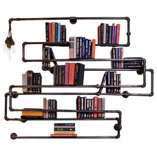 Industrial Wall Shelves by Oilfield Slang