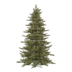 Vickerman 7.5 ft. Austrian Fir Pre-Lit Christmas Tree - Designed to provide your family with years of memories, the Vickerman 7.5 ft. Austrian Fir Pre-Lit Christmas Tree boasts a natural look and feel you're sure to love, Made from durable PVC, this gorgeous tree has a lush, full look that's perfect for Christmas. Specifications for 7.5-Foot Austrian Fir Pre-lit Tree Shape: Full Base Width: 56 inches Number of Bulbs: 700 Number of Tips: 1446 Don't Forget to Fluff!Simply start at the top and work in a spiral motion down the tree. For best results, you'll want to start from the inside and work out, making sure to touch every branch, positioning them up and down in a variety of ways, checking for any open spaces as you go.As you work your way down, the spiral motion will ensure that you won't have any gaps. And by touching every branch you'll make the desired full, natural look. About VickermanThis product is proudly made by Vickerman; a leader in high quality holiday decor. Founded in 1940; the Vickerman Company has established itself as an innovative company dedicated to exceeding the expectations of their customers. With a wide variety of remarkably realistic looking foliage; greenery and beautiful trees; Vickerman is a name you can trust for helping you make beloved holiday memories year after year.