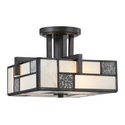Designers Fountain - Designers Fountain 84111  3 Light Semi-Flush Mount Ceiling Fixture from the Brad - Features: