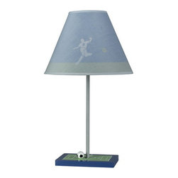 "Cal Lighting - Cal Lighting BO-5684 60 Watt 21"" Kids / Youth Wood Soccer Table Lamp with On/Off - 60 Watt 21"" Kids / Youth Wood Soccer Table Lamp with On/Off Switch from the Kids CollectionSpecifications:"