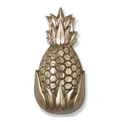 Hospitality Pineapple Nickel Door Knocker