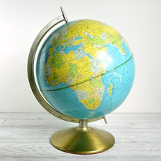 Traditional World Globes by Etsy