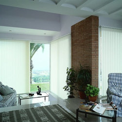 Vertical Blinds - You can make a room's look even more spacious if you select the most suitable window treatment for your space