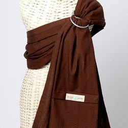 Maya Wrap - Lightly Padded Sling in Brown - Lightly Padded Sling in Brown