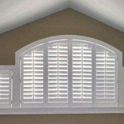 Specialty Shapes - Specialty shaped shutters
