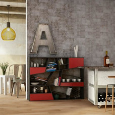 Eclectic Living Room by Geologica Store