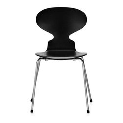 Ant Chair 4 Leg Wood | DWR - Some people were just born to design chairs. Arne Jacobson was one of those people. His aptly-named Ant Chair has a playful modern form and makes a great kitchen or dining chair. Pair it with a modern table or something more traditional.