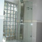Frameless Shower Doors, Frameless Glass Enclosures - frameless fixed panel