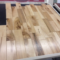 """Solid wood - Cabin grade maple 3 1/2"""" wide. 3/4"""" thick"""