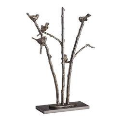 Cyan Design - Perch Sculpture - Perch sculpture - old world.