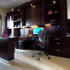 Modern Home Office by TRUE TO FORM DESIGN