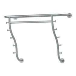 LOGGA Hat rack - Hat rack, silver color
