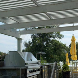 Pergola covers - These can be made for just shade or water proof as well.
