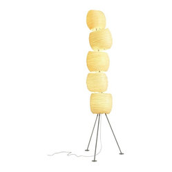 Ango Five Stone Floor Lamp