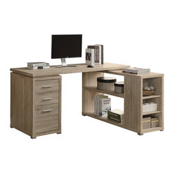 Desk With Printer Storage Desks: Find Computer Desk and Corner Desk Ideas Online