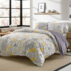Westpoint Home Llc - Addison 3-4 Piece Reversible Duvet Cover Set - Outfit your bed in super-soft warmth and comfort with the Addison bedding collection. This set includes a reversible duvet cover and a fluffy white-down-alternative comforter you can insert and remove from the duvet, making it perfect for year round use.