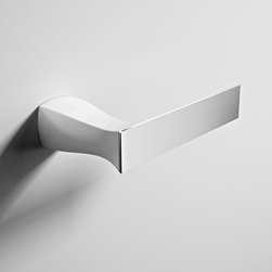 ArtCeram - ArtCeram | Jazz Toilet Roll Holder - Made in Italy by Art Ceram.A part of the Jazz Collection. The Jazz Toilet Roll Holder delivers a classic silhouette to a commonly overlooked bathroom essential. This striking ceramic toilet paper holder adds elegance and stark design to modern bathrooms. Equipped with reliable mounting hardware, the sturdy holder promises to withstand daily use; keeping your toilet paper sanitary and conveniently located. Product Features: