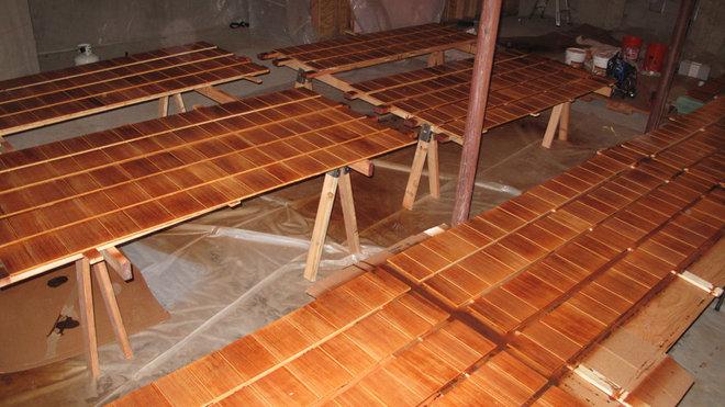Cabin Cement Fiber Board Siding Samples