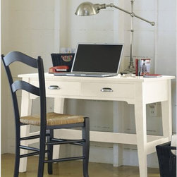 Painted Cottage Work Desk - Cottage charm with high function...what could be better?  This desk is large enough to hold your computer or laptop with room for a phone or lamp.