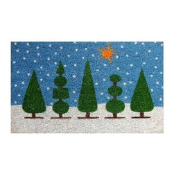 Momentum Mats - Momentum Mats Christmas Topiary 29 in. x 17 in. Coir and Vinyl Door Mat 12099 - Shop for Holiday Decorations at The Home Depot. Made of natural coir and vinyl-backed for stability and to prevent movement. Our beautiful topiary tree assortment makes an attractive door mat and is a durable addition to any porch or patio area. Wonderful for the holidays and all winter long.