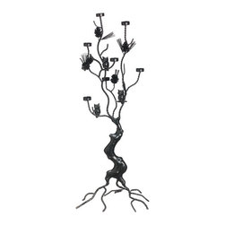 Silk Plants Direct - Silk Plants Direct Metal Owl Candle Holder (Pack of 1) - Pack of 1. Silk Plants Direct specializes in manufacturing, design and supply of the most life-like, premium quality artificial plants, trees, flowers, arrangements, topiaries and containers for home, office and commercial use. Our Metal Owl Candle Holder includes the following: