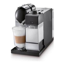 DeLonghi Nespresso - DeLonghi Nespresso Lattissima Plus EN520B, Silver - Overview