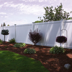 Bufftech New Lexington Vinyl Privacy Fence - Certainteed Bufftech