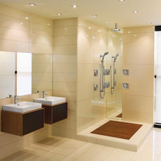 Modern Bathroom Faucets And Showerheads by Moen