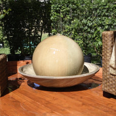 Eclectic Outdoor Fountains by Serenity Health & Home Decor