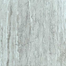 """Energie Ker - Roma Stone Grigio Natural 6"""" x 24"""" - The majesty of the empire is reborn in a modern style between the veins of a field of ancient inspiration, Roma Stone."""