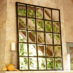 Eagan Multi-Panel Mirror, Large - This mirror is a hit in any style of space. It's big enough to take up a whole wall!