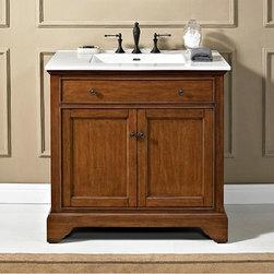 """Bath Vanity 36"""" - FD Framingham 36"""" Vanity - Vintage Maple"""