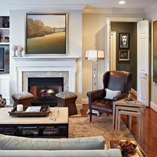 Traditional Living Room by Teal Interior Design