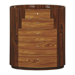 Global Furniture - New York Chest in Kokuten Finish - New York Chest in Kokuten Finish
