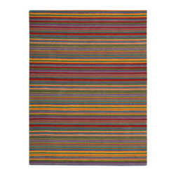 Nourison - NOUR-776 Nourison Skyland Area Rug Collection - This is a fantastic collection of contemporary and transitional designs ranging from primary stripes to intriguing textural floral to whimsical skins. Featuring exquisite patterns and meticulously hand carved to accentuate shape and create dimension in textures. Create an alluring focal point for any setting with these sophisticated and spectacular area rugs.
