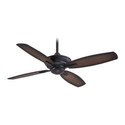 "Minka Aire - Minka Aire F513-KA New Era Kocoa 52"" Ceiling Fan with Remote Control - Features:"