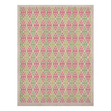 "Kess InHouse - Julie Hamilton ""Woven Wrap"" Pink Green Naturals Canvas (24"" x 36"") - Display your favorite KESS Naturals Canvas with organic elegance. KESS InHouse is proud to feature our entire artist gallery as the KESS Naturals collection. These unique artworks are recreated on a recycled burlap using only eco-friendly inks. They have a rustic fabric feel that we suggest framing without glass to fully convey the luxe texture of these prints. This eco-friendly material has been used by artists for centuries as an alternative to canvas. Upon ordering you will receive the artwork frameless to give you the best possible shipping and framing flexibility."