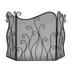 Cyan Design - Cyan Design Lighting 02558 Evalie Fire Screen - Cyan Design 02558 Evalie Fire Screen