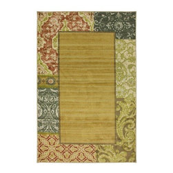Mohawk - Contemporary Metz 8'x10' Rectangle Multi Color Area Rug - The Metz area rug Collection offers an affordable assortment of Contemporary stylings. Metz features a blend of natural Multi Color color. Machine Made of Nylon the Metz Collection is an intriguing compliment to any decor.
