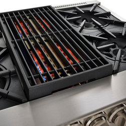 BlueStar Platinum Series: 40,000 BTUs - All gas range.