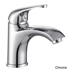 Elite - Elite Luxury Short Single-handle Bathroom Lavatory Faucet - Give your bathroom an upgrade with this short,easy-to-install faucet. Available in several popular finishes,this vessel filler lavatory faucet comes with all necessary mounting hardware as well as waterlines.