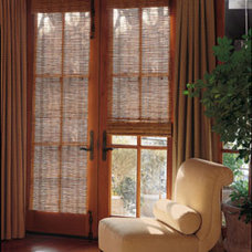 Traditional Living Room by Next Day Blinds