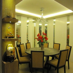 asian dining room by Michael Suqui